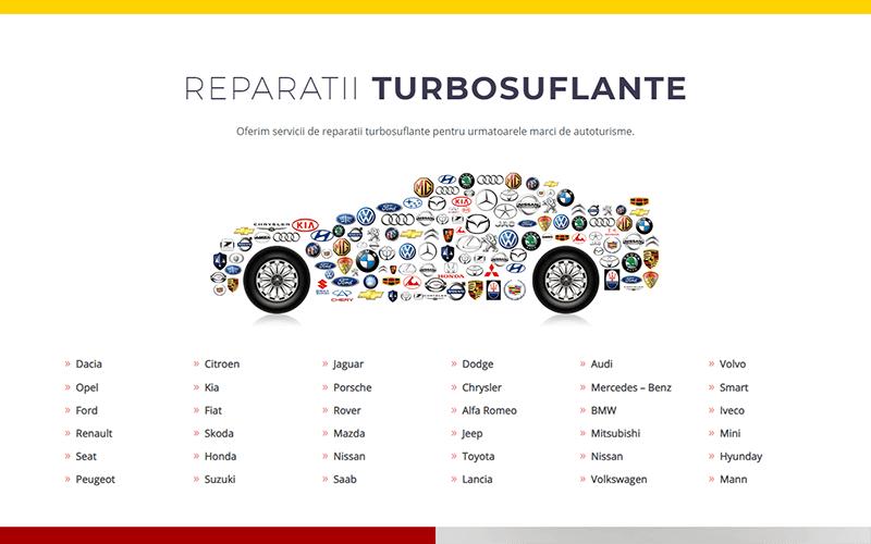 Reparații turbosuflante