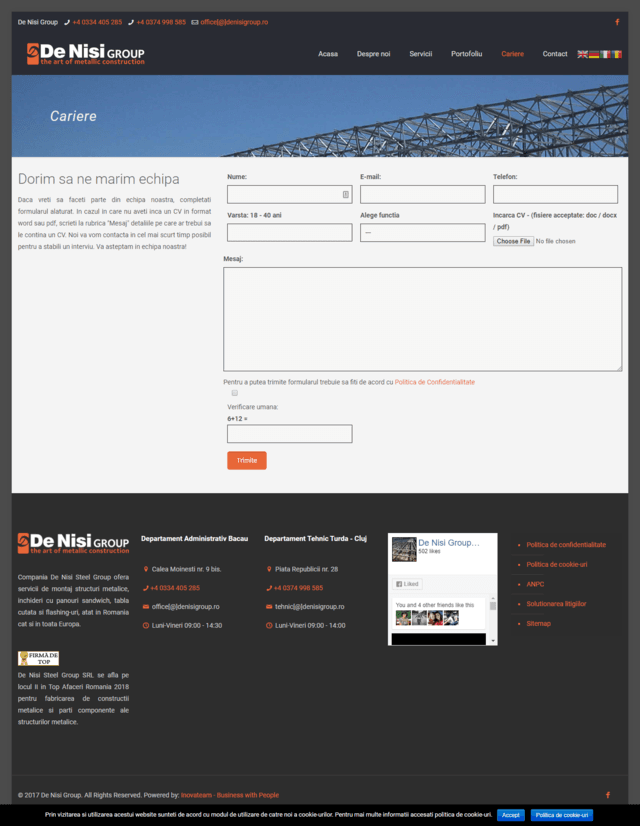 Inovateam web design - denisigroup (2)