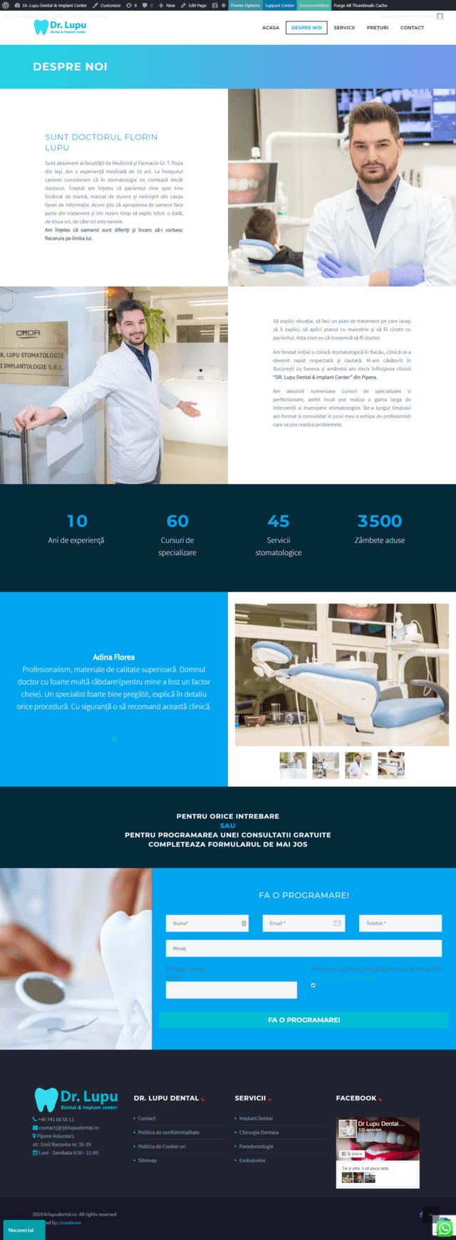 Inovateam web design - drlupudental (4)