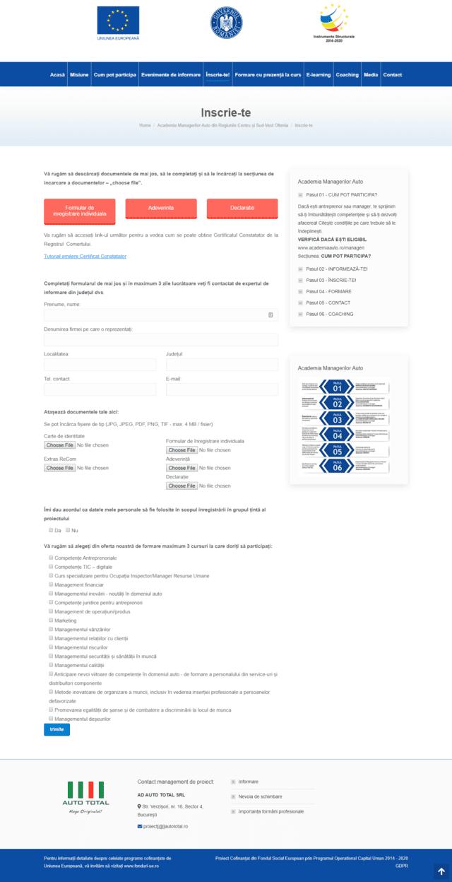 Inovateam web design - manageri