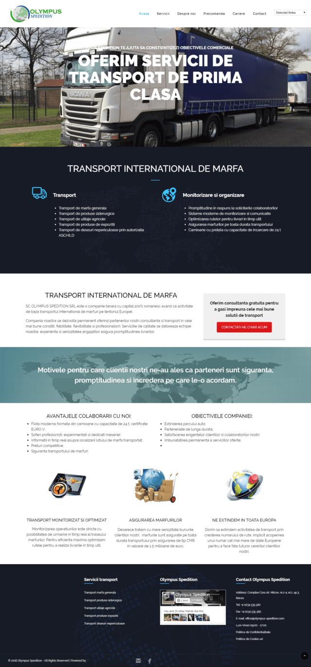Inovateam web design - olympus